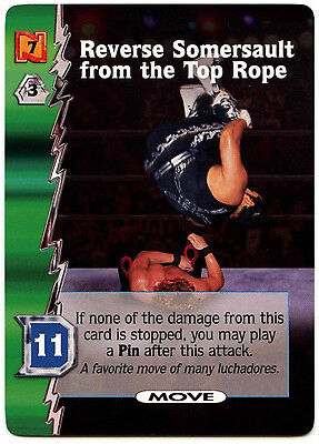 Reverse Somersault From The Top Rope WCW Nitro TCG Card (C313)