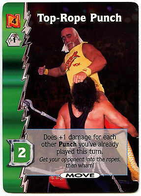 Top-Rope Punch WCW Nitro TCG Card (C313)