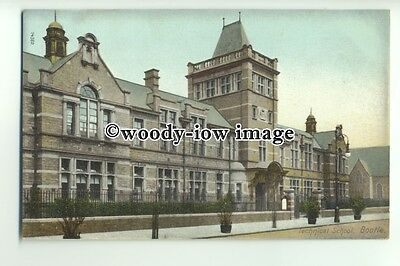 tp9656 - Lancs - View from Road of the Technical School, in Bootle - Postcard