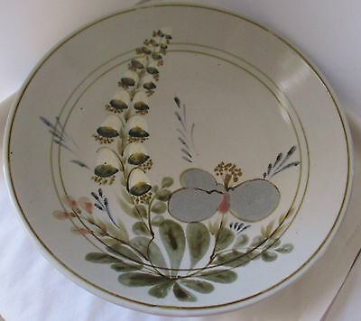 Highland Scotland Stoneware Lily Of The Valley Large Center Piece Bowl
