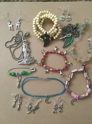 WICCAN Lot Sacred Jewelry GODDESS