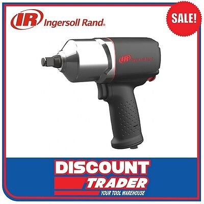 "Ingersoll Rand Pneumatic 1/2"" Air Impact Wrench 1350Nm Kit - 2135Qi-Kit"