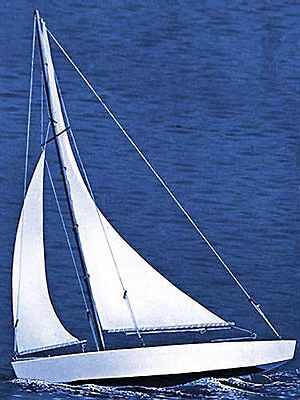 NEW Dumas Ace Sloop Sailboat Kit 17  1102