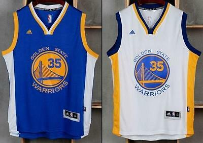NEW Golden State Warriors Kevin Durant #35 JERSEY Swingman classic BLUE/WHITE