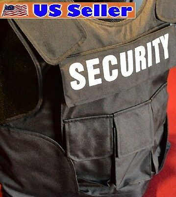 Police Tactical Body Armor Bullet Proof / Stab Proof Vest 3A SIZE LARGE NEW!!!