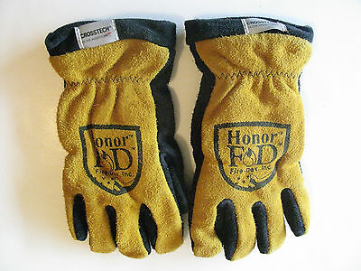New  Fire-Dex  G01KEMGL leather gloves, size SM (small).