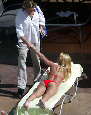 Britney Spears 8X10 Photo Picture Pic Hot Sexy Butt In Tiny Bikini Candid 157