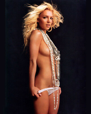 Britney Spears 8X10 Photo Picture Pic Hot Sexy Topless In Panties 79