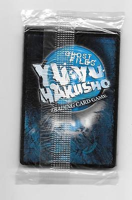 """Yu-Yu Hakusho Score Tournament Promo  Pack """"not For Resale"""" Ghost Files - 2003"""