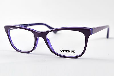 New Authentic VOGUE Women's Purple Optical Fashion Eyeglasses Frame VO2763 2277