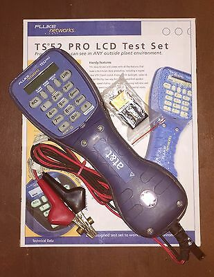Fluke Networks TS52 PRO Test Butt Set