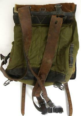Antique Franz Cobau German Wwii Radio Operator Horse Hair Backpack Military 1939