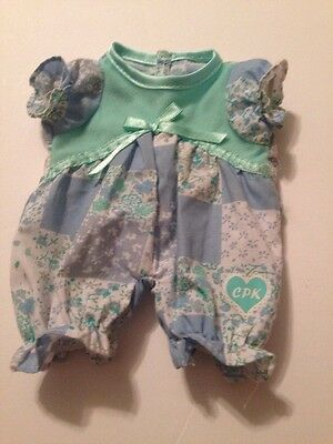 """CABBAGE PATCH KIDS PRIMIE BABY DOLL ROMPER CLOTHES 10"""" CPK Outfit PA"""