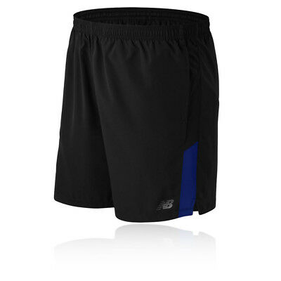New Balance Accelerate 7 Inch Mens Blue Black Running Shorts Pants Bottoms