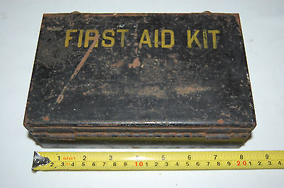 Vintage Mine Safety Appliances Co. First Aid Kit - Empty  Antique