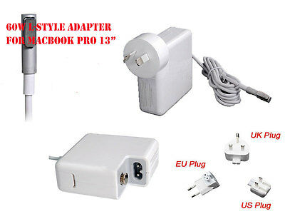 """60W L-style Power Adapter Charger for MacBook Pro 13""""-inch"""