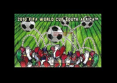 South Africa 2007 Football World Cup - South Africa 2010. MNH