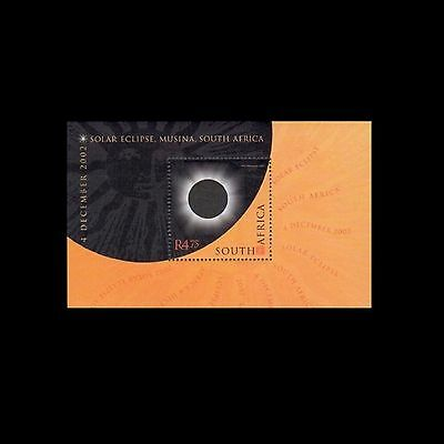 South Africa 2002 Total Solar Eclipse M/Sheet. MNH