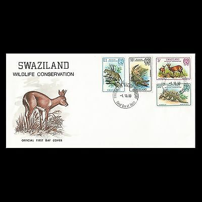 Swaziland 1980 Nature Protection FDC