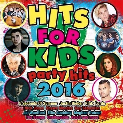 Hits For Kids: Party Hits 2016, 2016  Various CD NEW