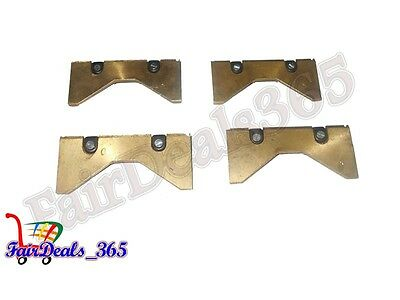 """Engine Cylinder Hone Hall Toledo Type 12"""" To 16"""" Spare Brass Carrier Hall Set"""