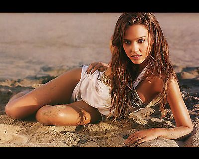 Jessica Alba 8X10 Photo Picture Hot Sexy Candid 323