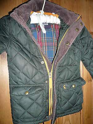 childs joules coat 4 yrs excellent condition, great style, quality,smart,trendy.