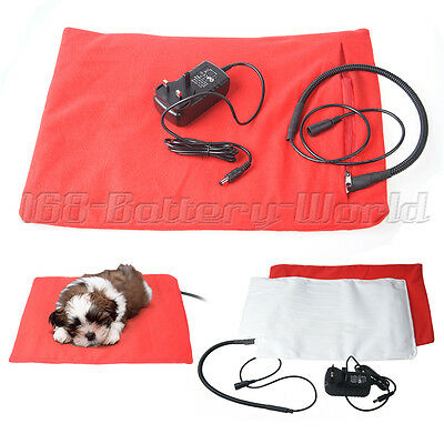 Waterproof Electric Heating Pad Heater Warmer Mat Bed Blanket for Pet Dog Cat UK