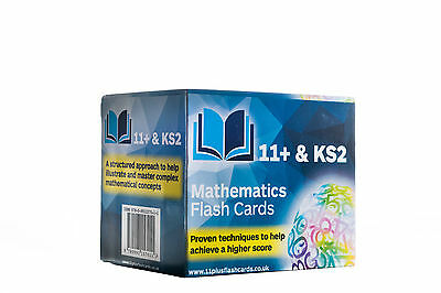 11+ & KS2: Mathematics Flash Cards