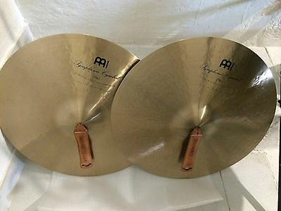 Meinl Symphonic 18 medium Orchestra Cymbals Cymbales frappées