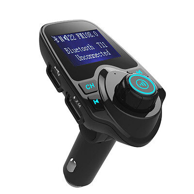 Wireless Radio Adapter USB Charger Bluetooth Car Kit MP3 Player FM Transmitter