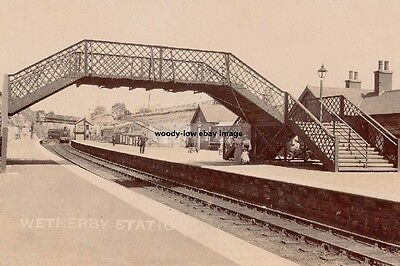 rp14363 - Wetherby Railway Station , Yorkshire - photo 6x4