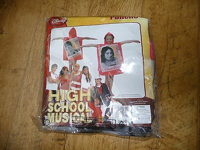 Girl's Pink High School Musical Poncho / Hooded Towel