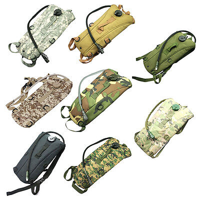 3L Water Bladder Bag Camelbak Hydration System Pack Backpack Hiking Camping Camo