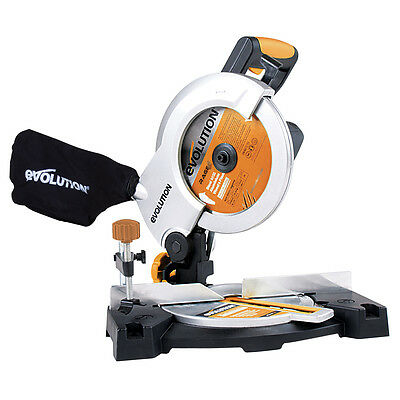 Evolution Rage 3-B 210mm TCT Multipurpose Compound Mitre Saw 240V