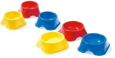 Pack 2 Classic Colourtone Plastic Mouse Feeding Dish - 90mm #28R436