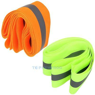 High Safety Reflective Arm Ankle Band Belt Strap For Night Running Walking Bike