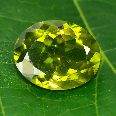3.44 Ctw Attractive Green Very Rare Gem Natural Indocrose Garnet