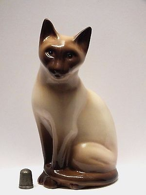 Stamped & Hand Decorated Philip Laureston Babbacombe Pottery Burmese/Siamese Cat