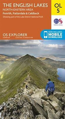 Explorer Map OL5 :  The English Lakes - North Eastern Area