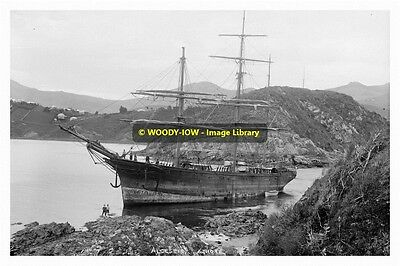 rp12887 - Grounded Sailing Ship - Alcestis  - photo 6x4