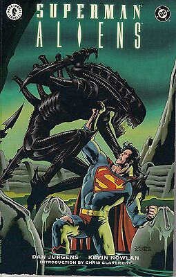 SUPERMAN VS ALIENS  TPB ......VF+...1996.. ..DHP/DC COMICS....Bargain!