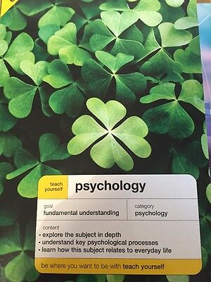 Brand New, Never Used:  Psychology By Dr Nicky Hayes RRP £9.99