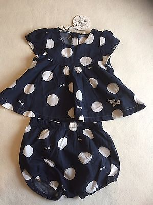 Baby Girls Clothes 9-12 Months - Cute Top & Bottoms Outfit - New