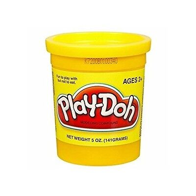 Yellow Play-Doh Single Can - 5 oz Bright Yellow Modeling Clay, Play Dough * NEW