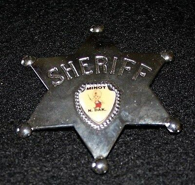 Sheriff Badge - Minot, North Dakota