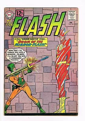 Flash # 126 The Doom of the Mirror Flash ! grade 5.0 scarce hot book !!