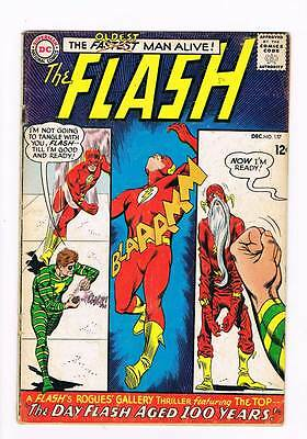 Flash # 157 Who Stole Flash's Super-Speed ! grade 3.0 scarce hot book !!