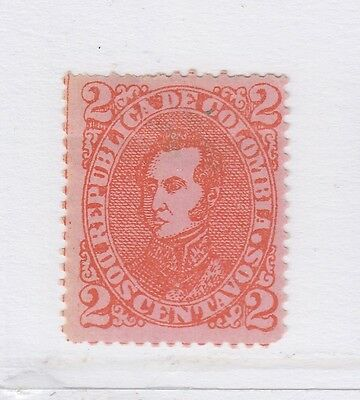 A2P57 COLOMBIA 1887 2c USED