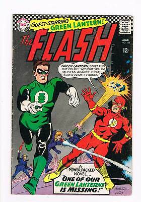 Flash # 168 One of Our Green Lanterns is Missing ! grade 4.0 scarce hot book !!